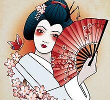 Geisha by Clelia Lobba