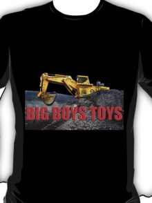 Big Boys Toys T-Shirt T-Shirt