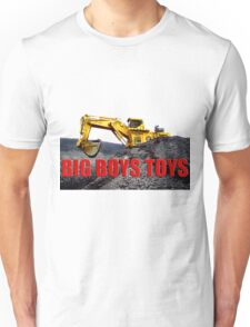 Big Boys Toys T-Shirt Unisex T-Shirt