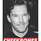 Benedict Cumberbatch Cheekbones by jessvasconcelos