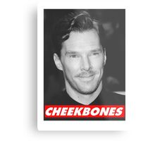Benedict Cumberbatch Cheekbones Metal Print