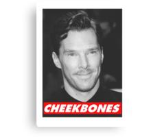 Benedict Cumberbatch Cheekbones Canvas Print