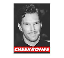 Benedict Cumberbatch Cheekbones Photographic Print