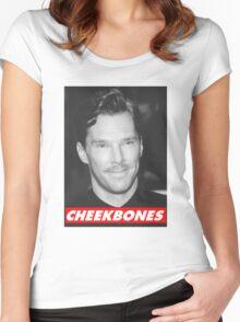 Benedict Cumberbatch Cheekbones Women's Fitted Scoop T-Shirt