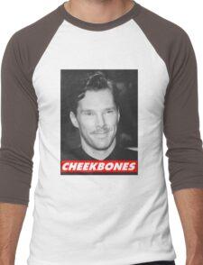 Benedict Cumberbatch Cheekbones Men's Baseball ¾ T-Shirt