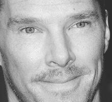 Benedict Cumberbatch Cheekbones Sticker