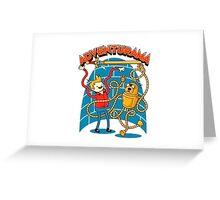 Adventurama Greeting Card