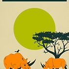 LESOTHO Travel Poster by JazzberryBlue