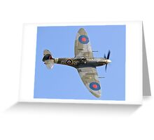Supermarine Spitfire Vb AB910/RF-D Greeting Card