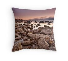 The Foreshore Throw Pillow