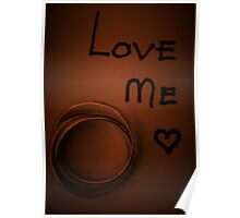 Love me ... Poster