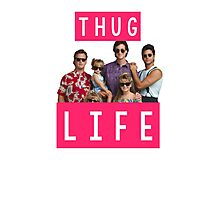 Thug life - full house Photographic Print