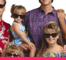 Thug life - full house Sticker