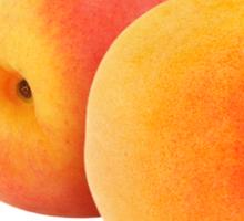 Peach #1 Sticker