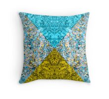 Psychedelic Triangle Dream Invert Throw Pillow