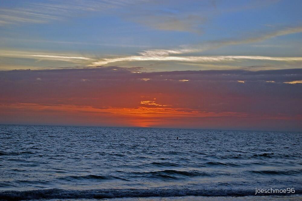 Red Sky at Sunset by joeschmoe96
