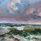 Storm in October by Sokolovskaya