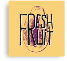 Mango fresh fruit illustration Canvas Print