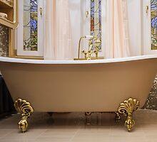 old-fashioned bathtub by mrivserg