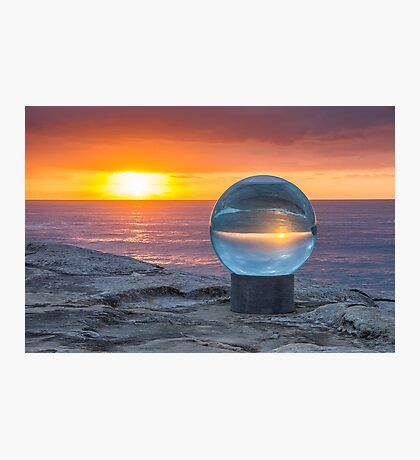 A Beautiful Day - Sculpture By The Sea - Tamarama - NSW - Australia Photographic Print