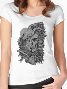 Wolf Child Women's Fitted Scoop T-Shirt