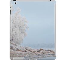 morning fog in winter iPad Case/Skin