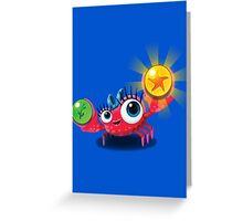 "Bubble Heroes - Kara the Crab ""Bubble"" Edition Greeting Card"