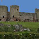 Ruddlan castle by ccrcats