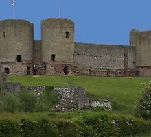 Ruddlan castle by ccrcats