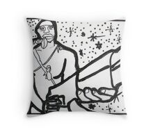 Righteous Gunman Throw Pillow