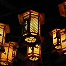 Japanese shrine lanterns by Peter Zentjens