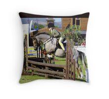Working Hunter Pony Throw Pillow
