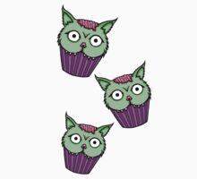 Zombie Cat Cupcake Kids Clothes