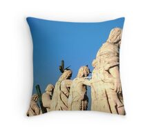 Rooftop of St Peters Throw Pillow