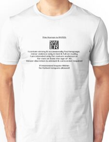 This HUMAN has been rated... T-Shirt