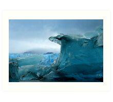Blue Berg Art Print