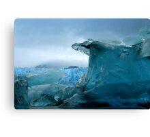 Blue Berg Canvas Print