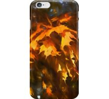 Spotlight on the Golden Maple Leaves - Fall Forest Impressions iPhone Case/Skin