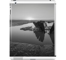 Shipwreck in Black & White iPad Case/Skin
