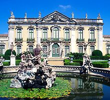 Queluz Palace, Lisbon, Portugal by chord0