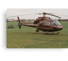 Eurocopter AS355 Ecureuil 2 - F1 Twin Squirrel Canvas Print