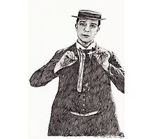 'Buster Keaton' Photographic Print