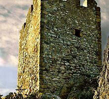 St. Hilarion Castle Cyprus by Lisa Solonynko