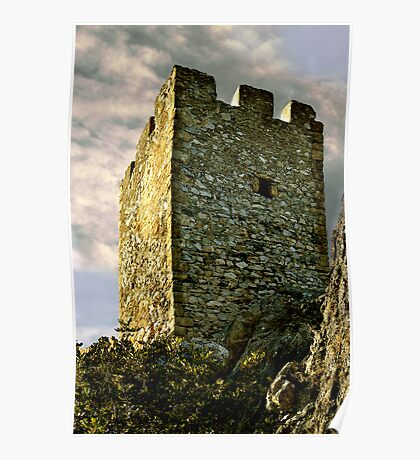 St. Hilarion Castle Cyprus Poster
