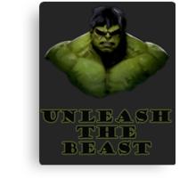 Unleash the Beast Canvas Print