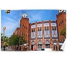 Plaza de Toros Monumental de Barcelona Poster