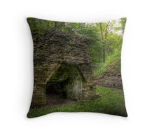 The Blast Furnace Throw Pillow