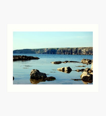 Kerry Seashore Art Print
