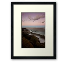 Merewether at Dusk 7 Framed Print