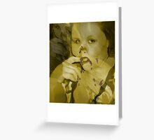 Gluttony-Seven Deadly Sins #5 Greeting Card